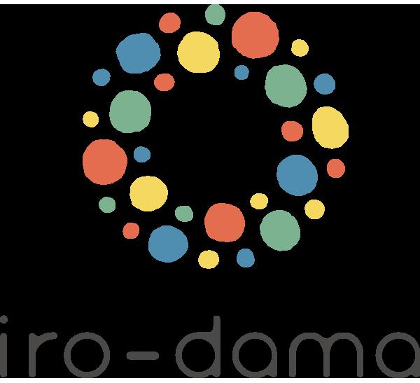 iro-dama(いろだま)のロゴマーク